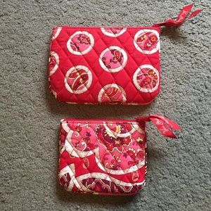 Set of 2 Travel/Accessory clutch